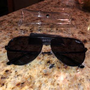 Quay x Desi High Key Mini Sunglasses